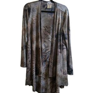 VOCAL bodhi drip long cardigan size large